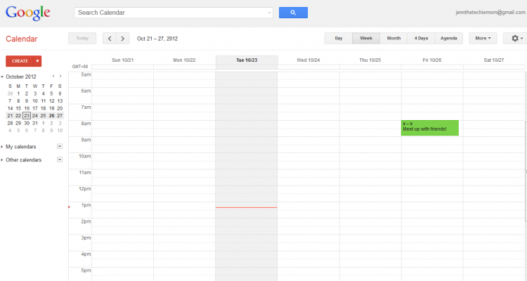 Adding SMS Alert To Google Calendar