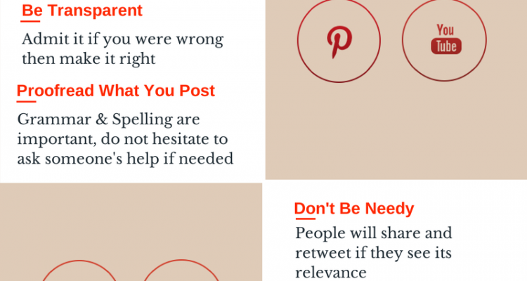 Social Media Do's & Don'ts