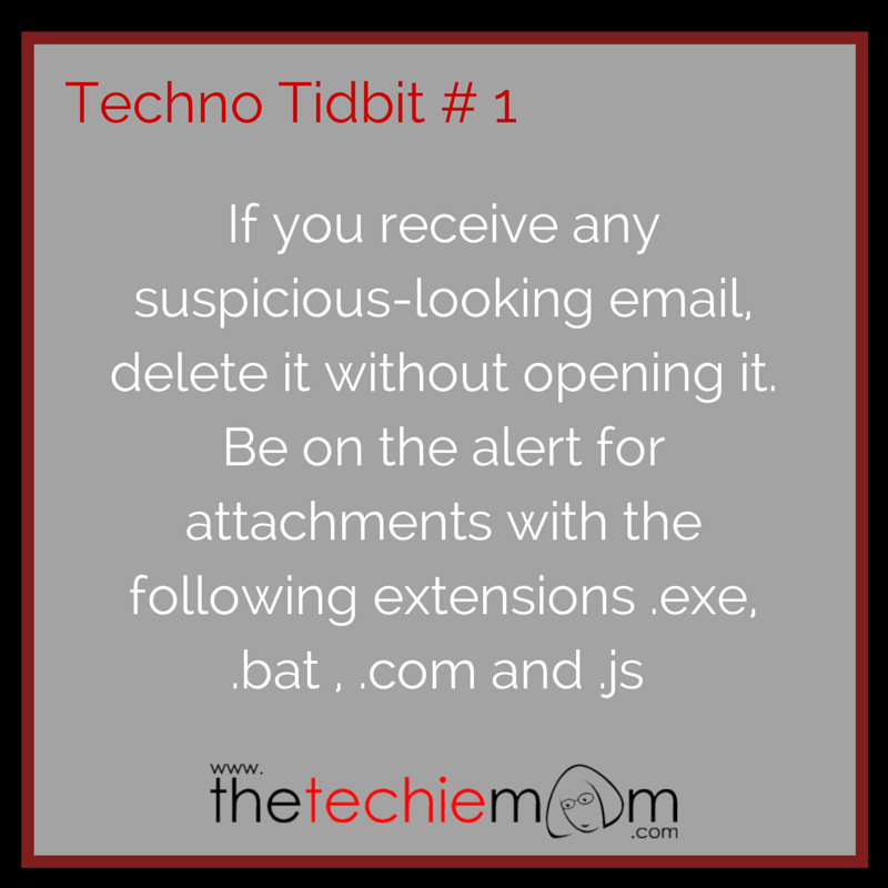 Techno Tidbit # 1