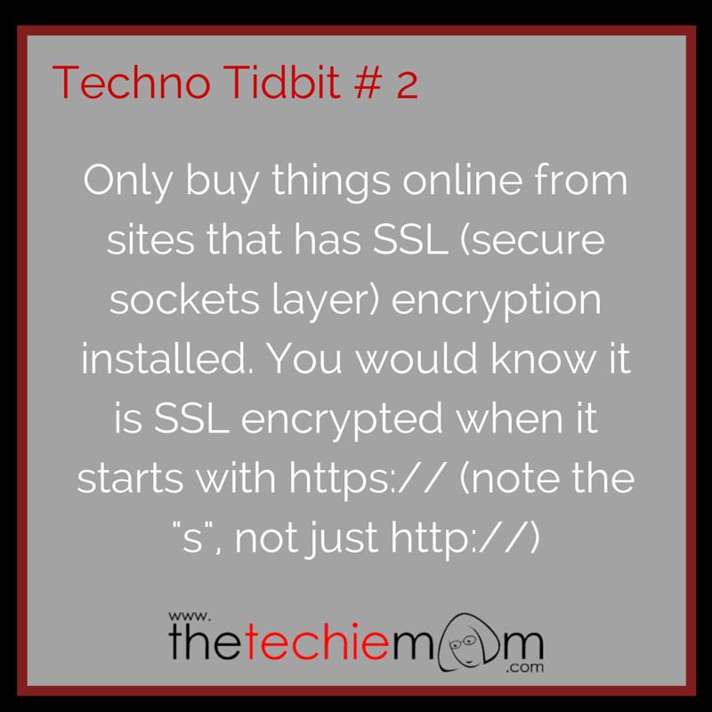 Techno Tidbit # 2
