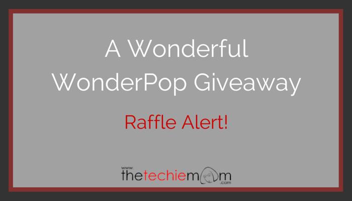 A Wonderful WonderPop Giveaway!