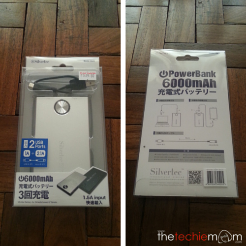 Silvertec CS41 6000mah packaging