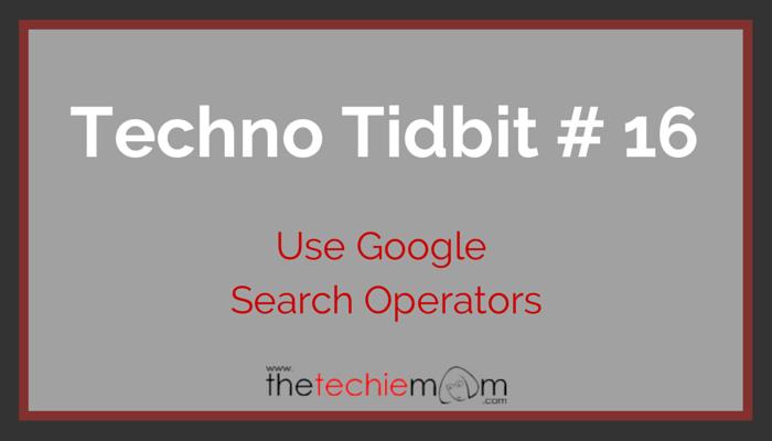 Techno Tidbit #16 featured image