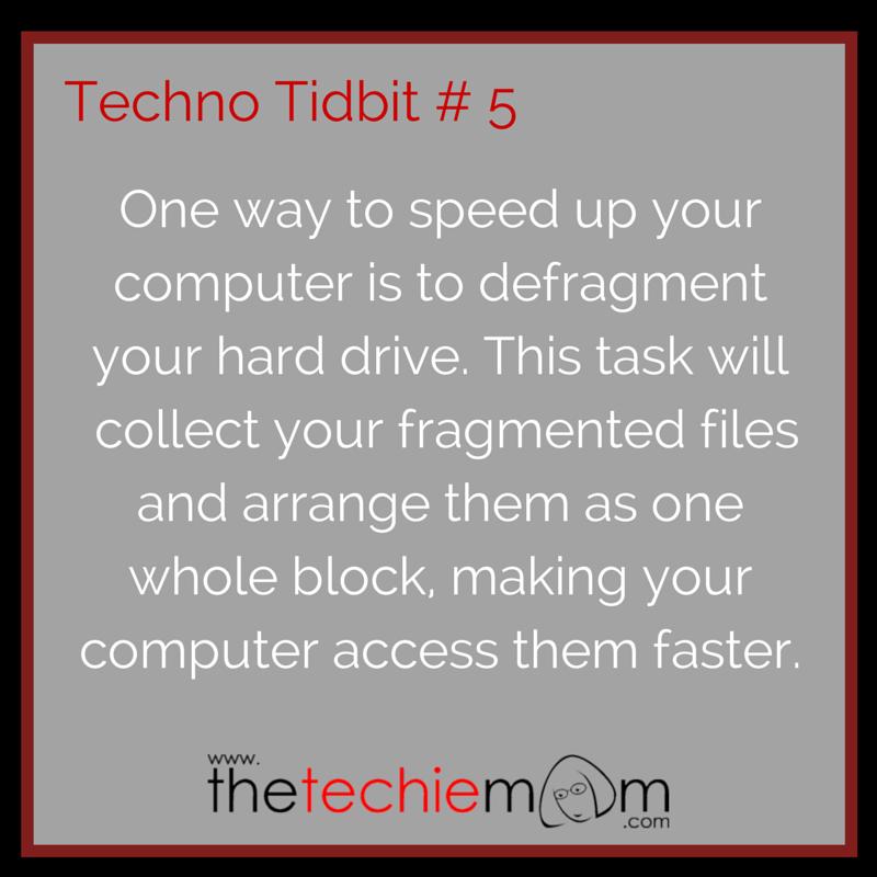 Techno Tidbit # 5