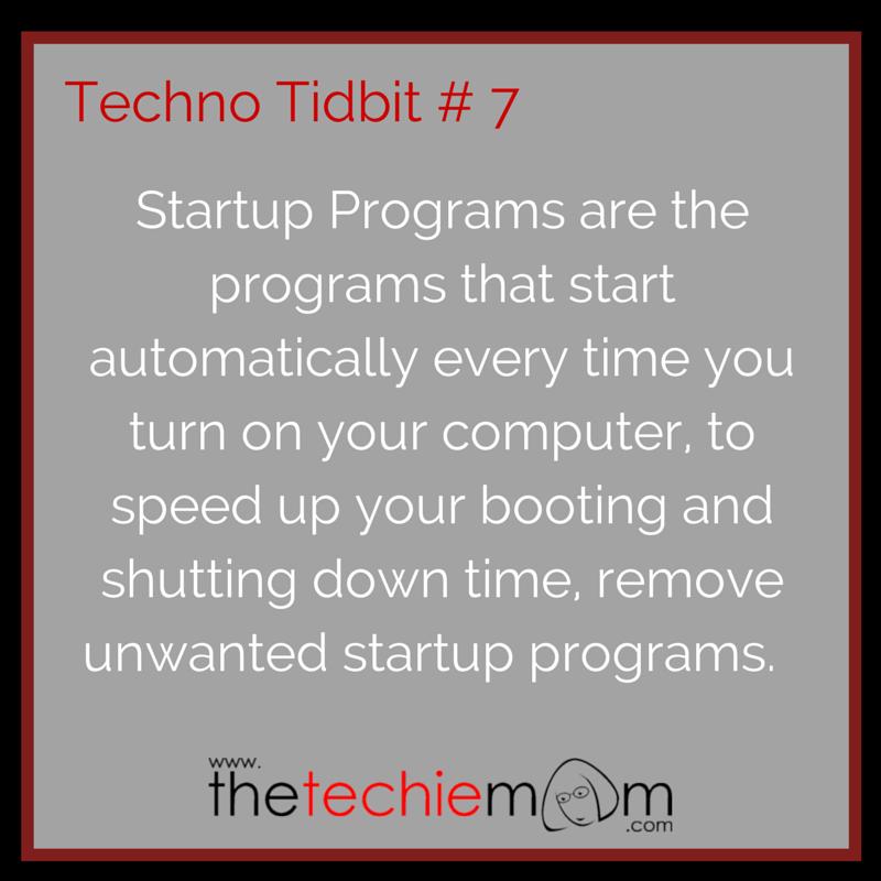 Techno Tidbit # 7