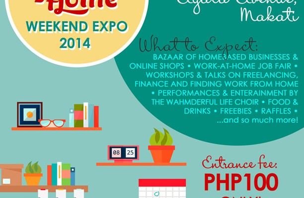 Want to be a part of the Work-at-Home Weekend Expo 2014?