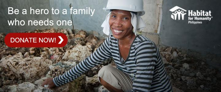 Habitat For Humanity Philippines: Help A Family Have A Home